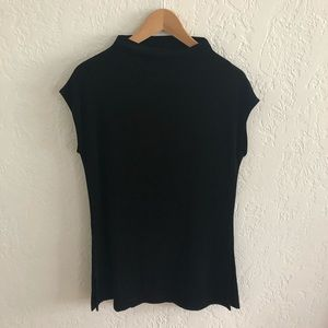 3/$20 ALL TEES Chico's funnel neck cap sleeve tee
